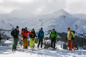 San Juan Mountain Guides guided backcountry skiing