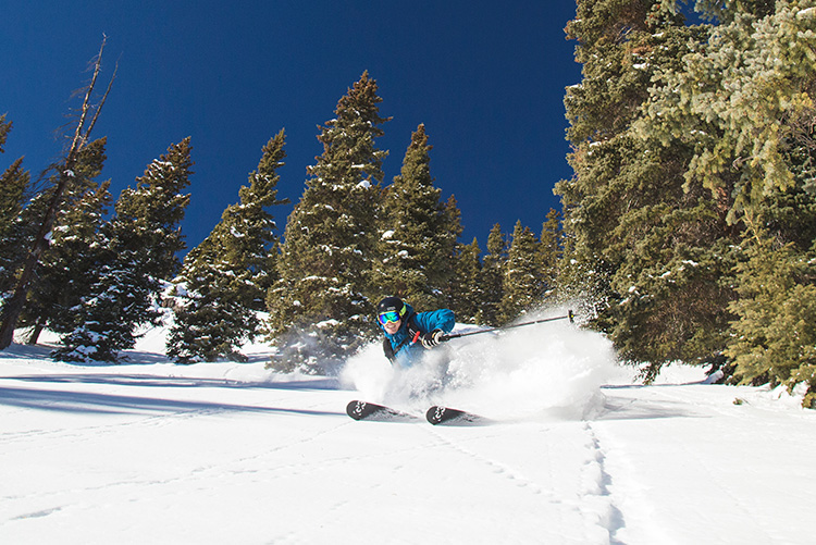 red mountain pass powder skiing