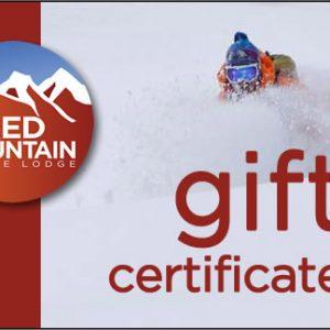 RMAL gift certificate